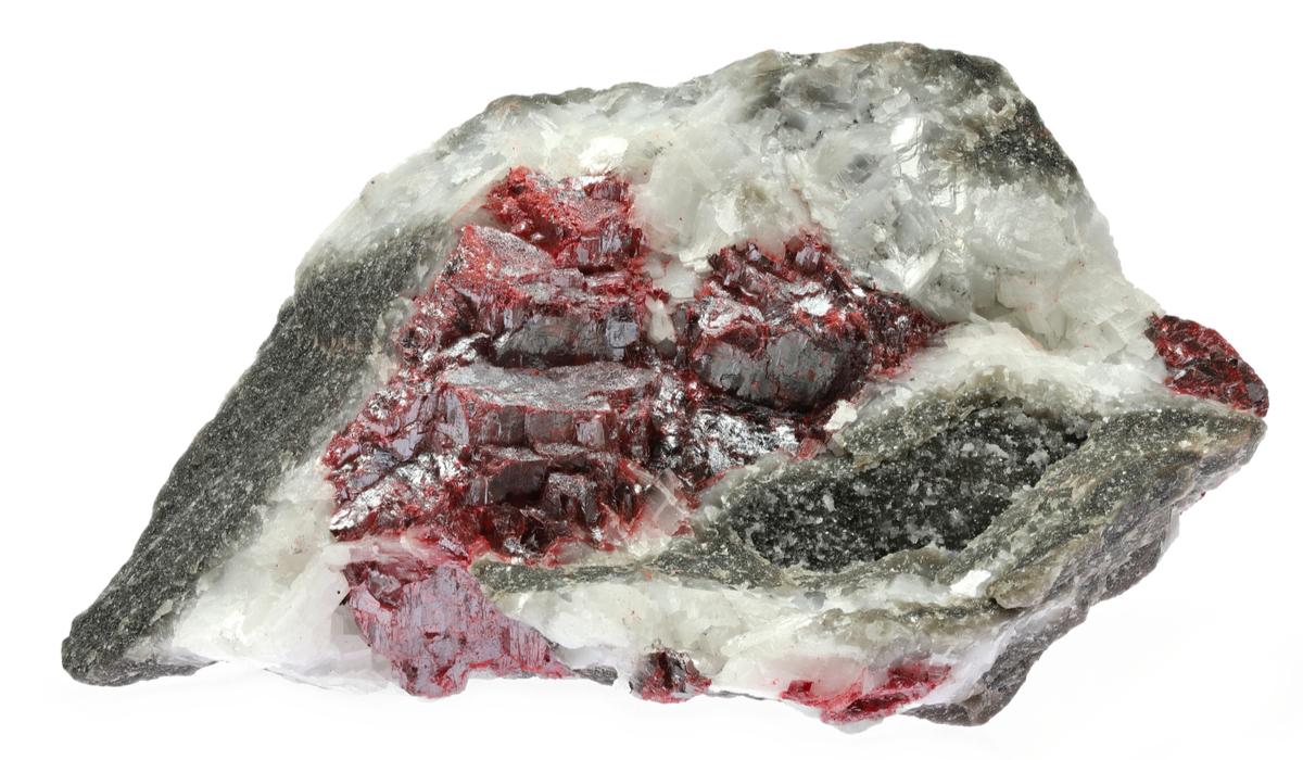 辰砂 シンシャ 原石