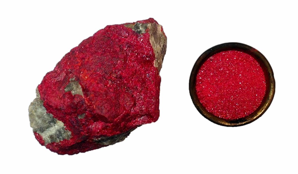 かつて賢者の石と呼ばれた辰砂(シンシャ)とは?毒性があるって本当 ...