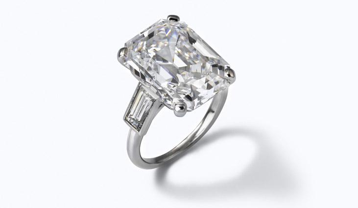 グレースケリー婚約指輪