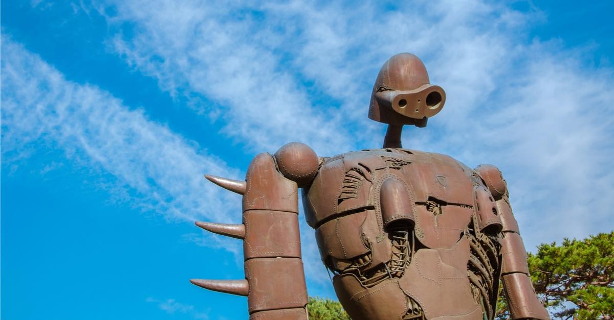 天空の城ラピュタロボット