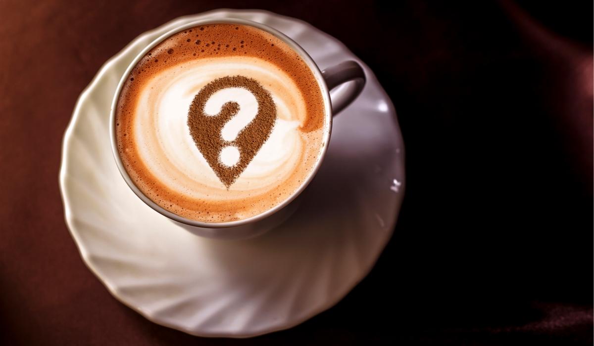 コーヒーカップ?の文字