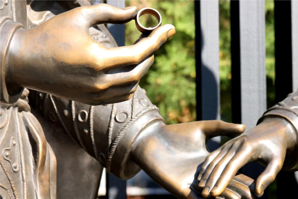 古代の結婚指輪
