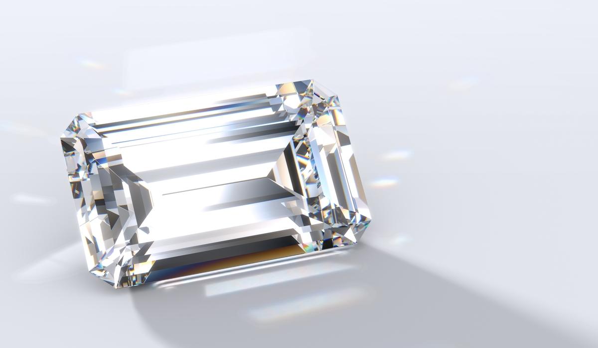 エメラルドカット ダイヤモンド2