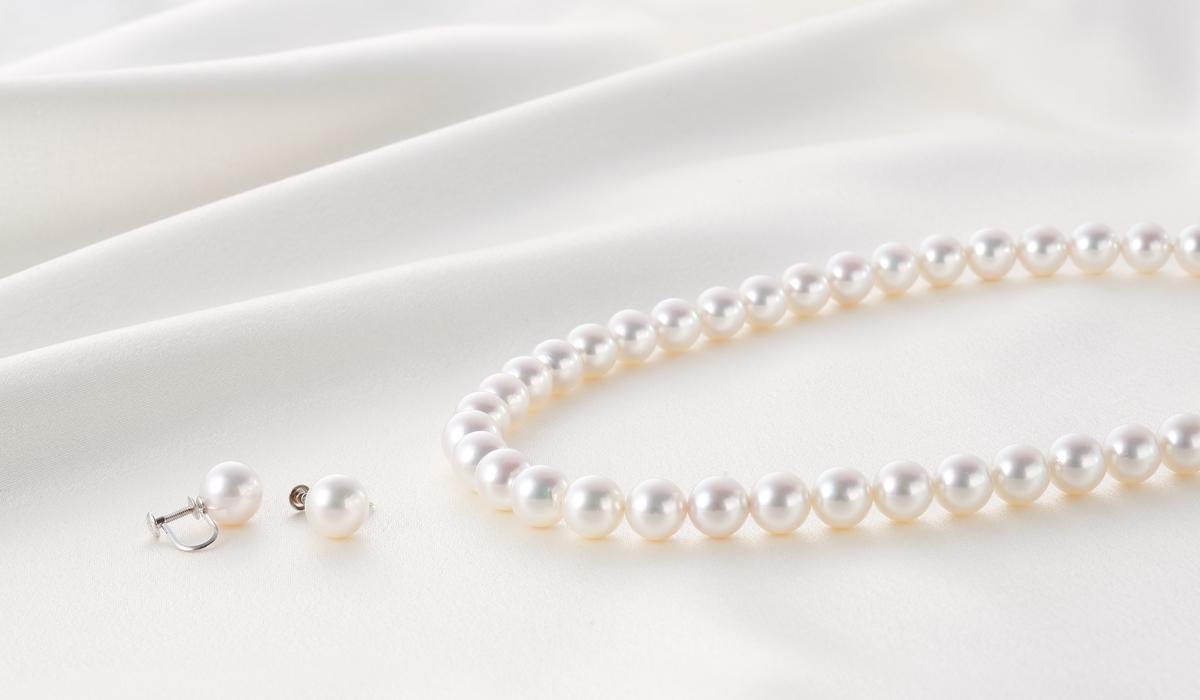 真珠ネックレス3