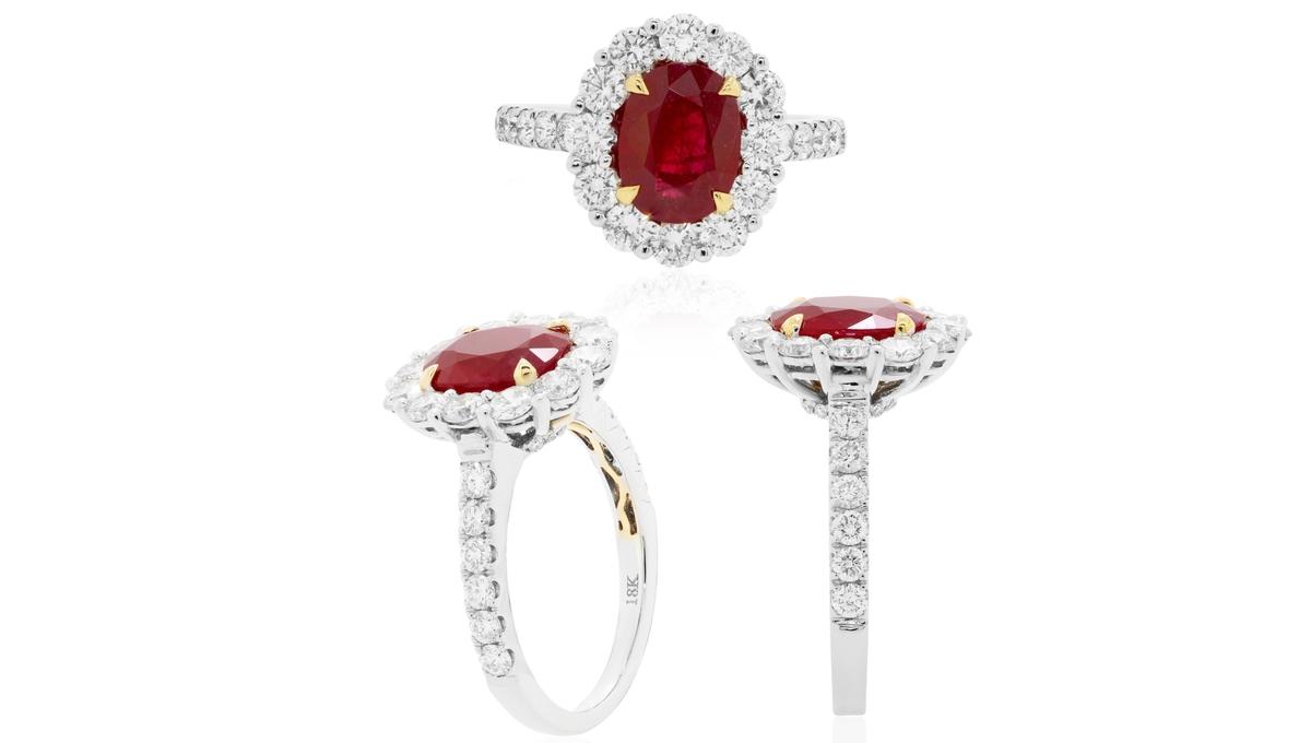 ルビー指輪