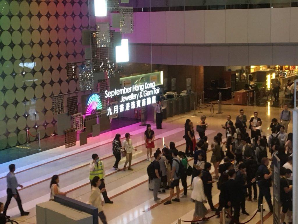香港ジュエリーショー