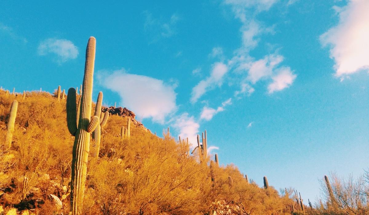 アリゾナの空