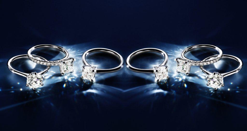 ダイヤモンドリング輝き
