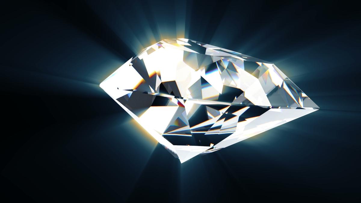 ダイヤモンド輝き
