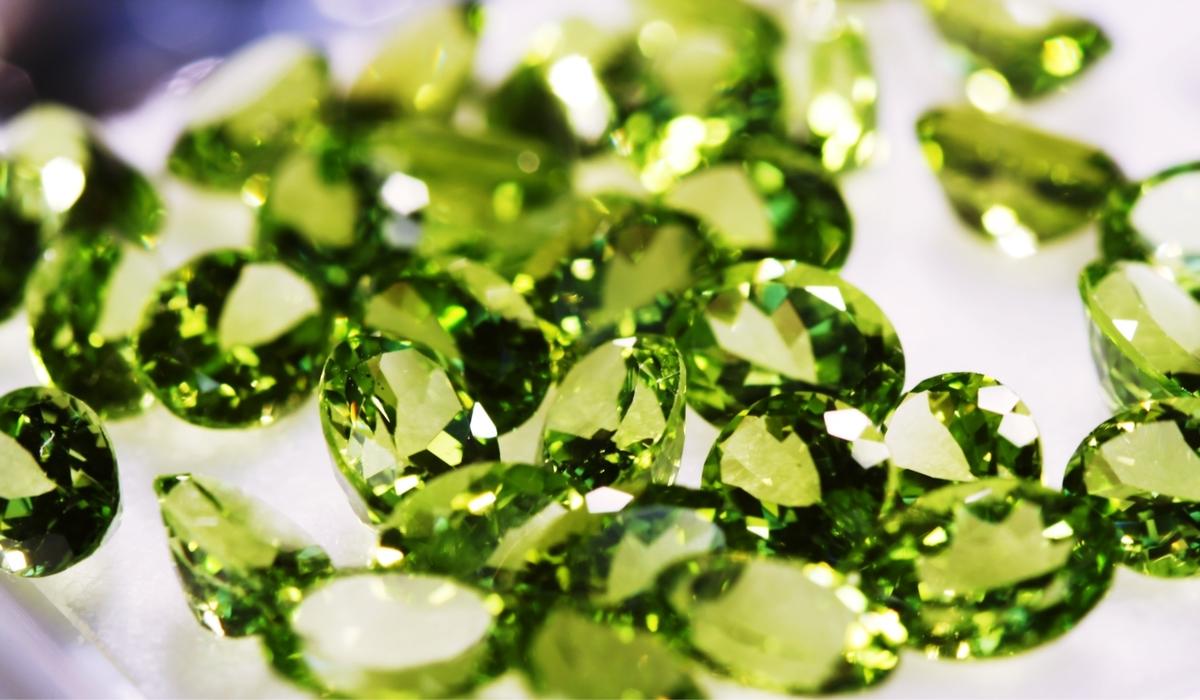 緑色の宝石たち