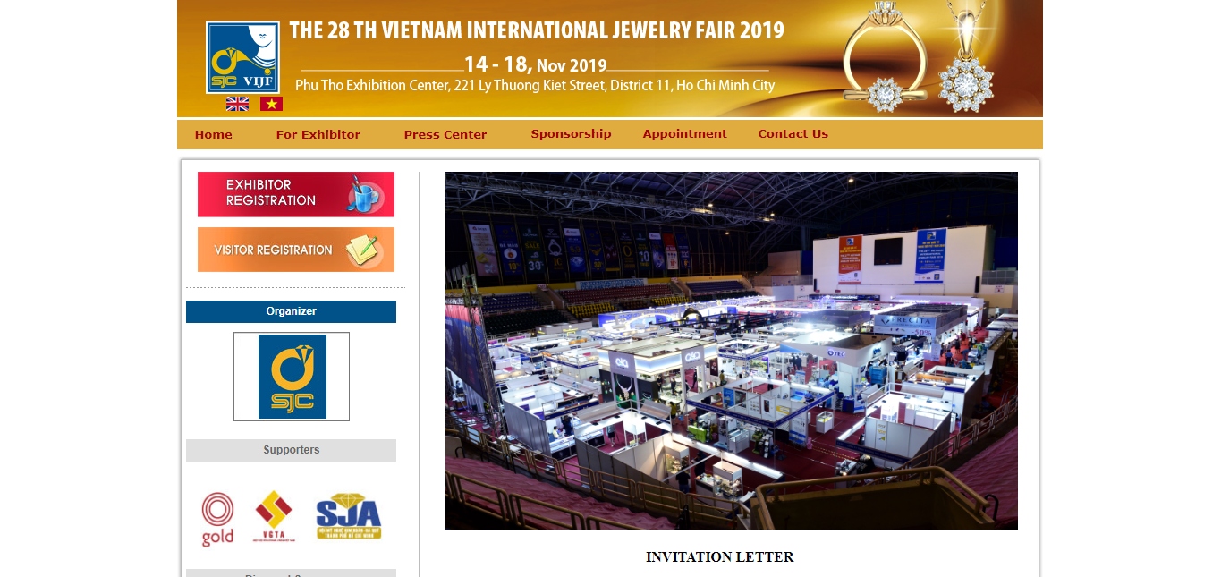 Vietnam International Jewelry Fair 2019