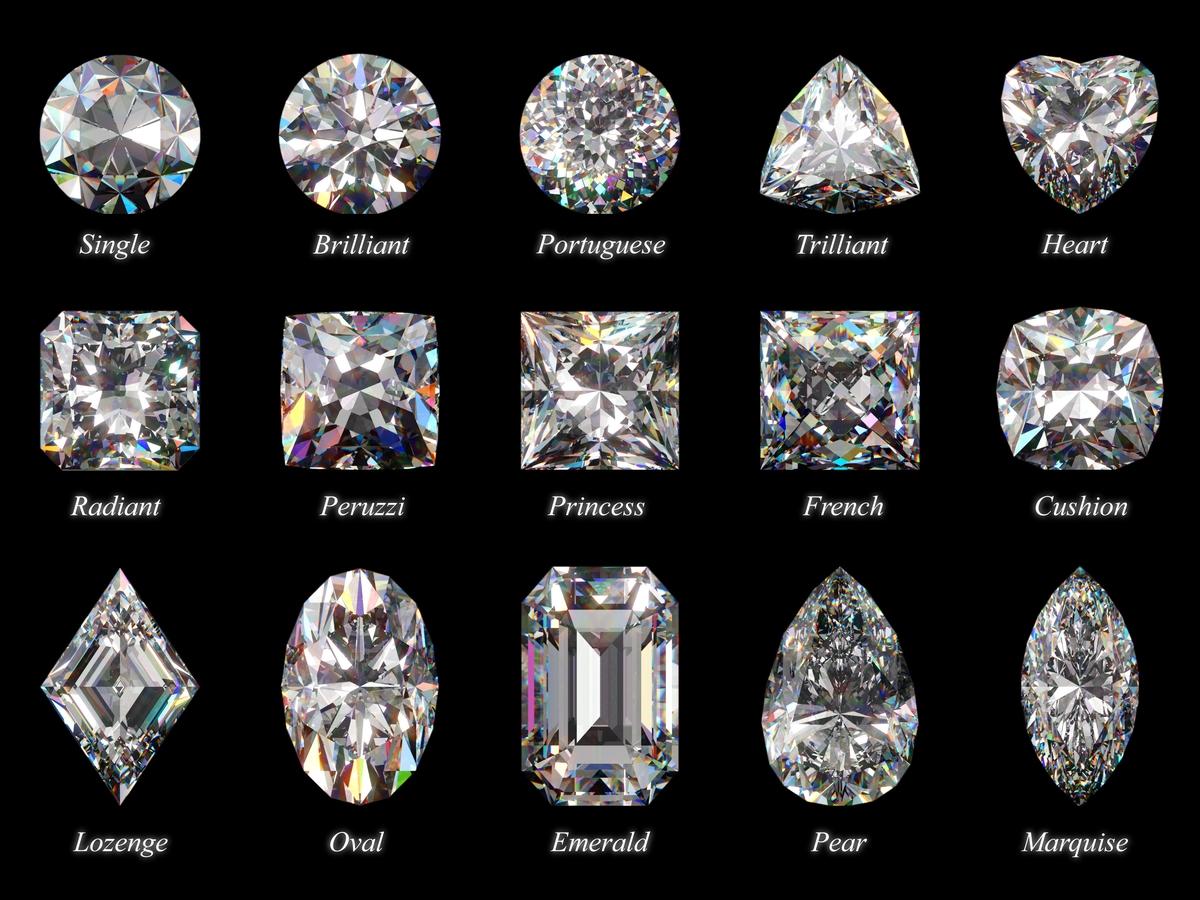ダイヤモンドカット一覧