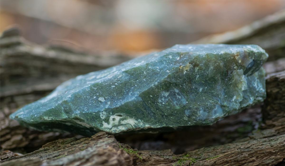 モスアゲート 原石