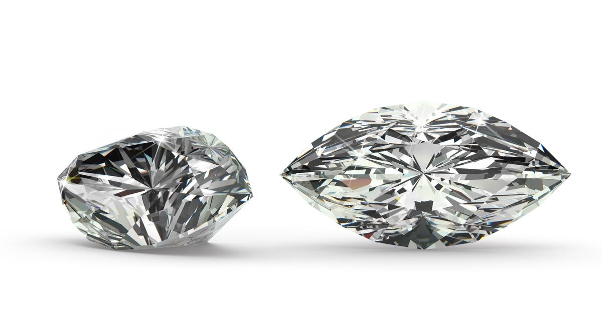 マーキースカット ダイヤモンド