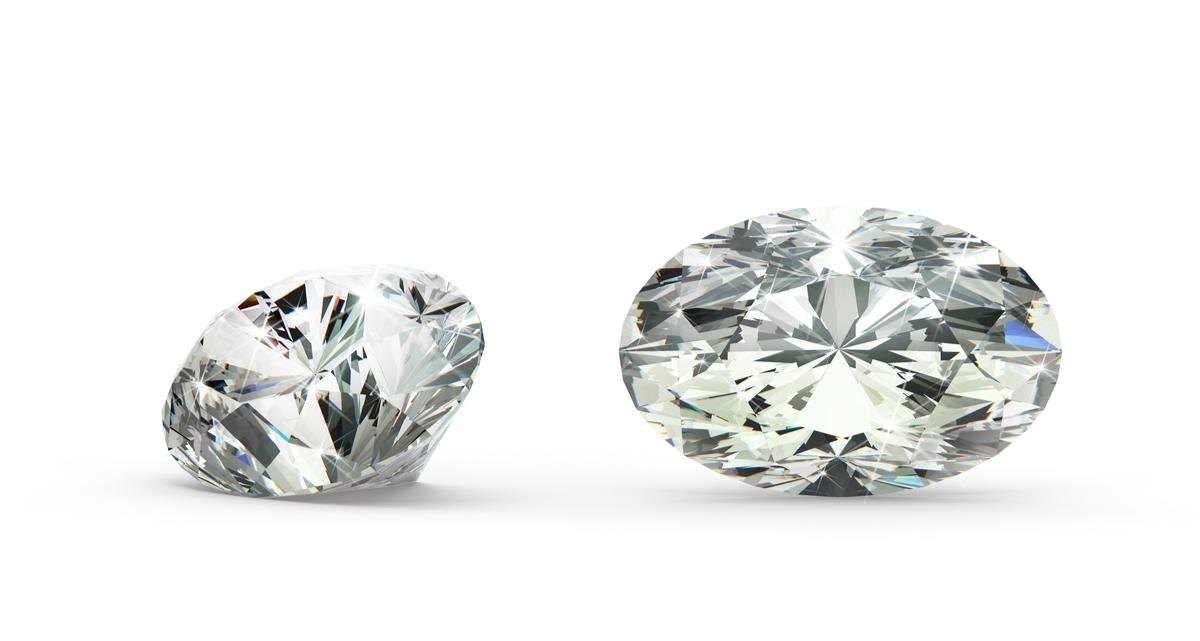 オーバルカット ダイヤモンド