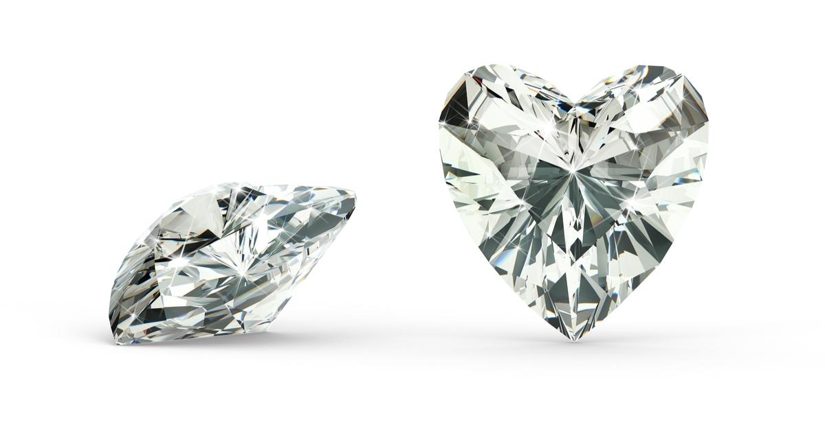 ハートシェイプカット ダイヤモンド