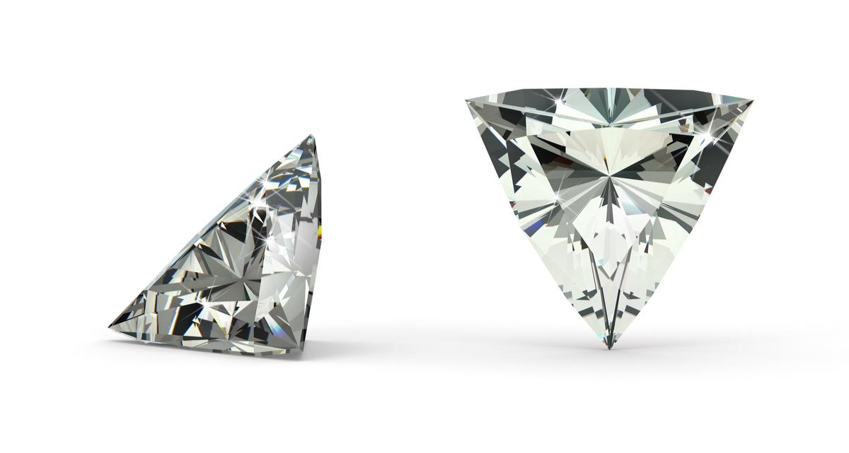 トリリアントカット ダイヤモンド