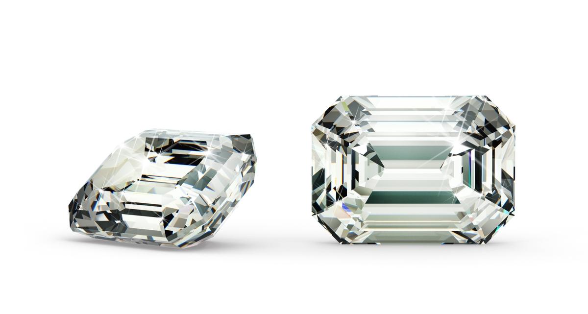 エメラルドカット ダイヤモンド