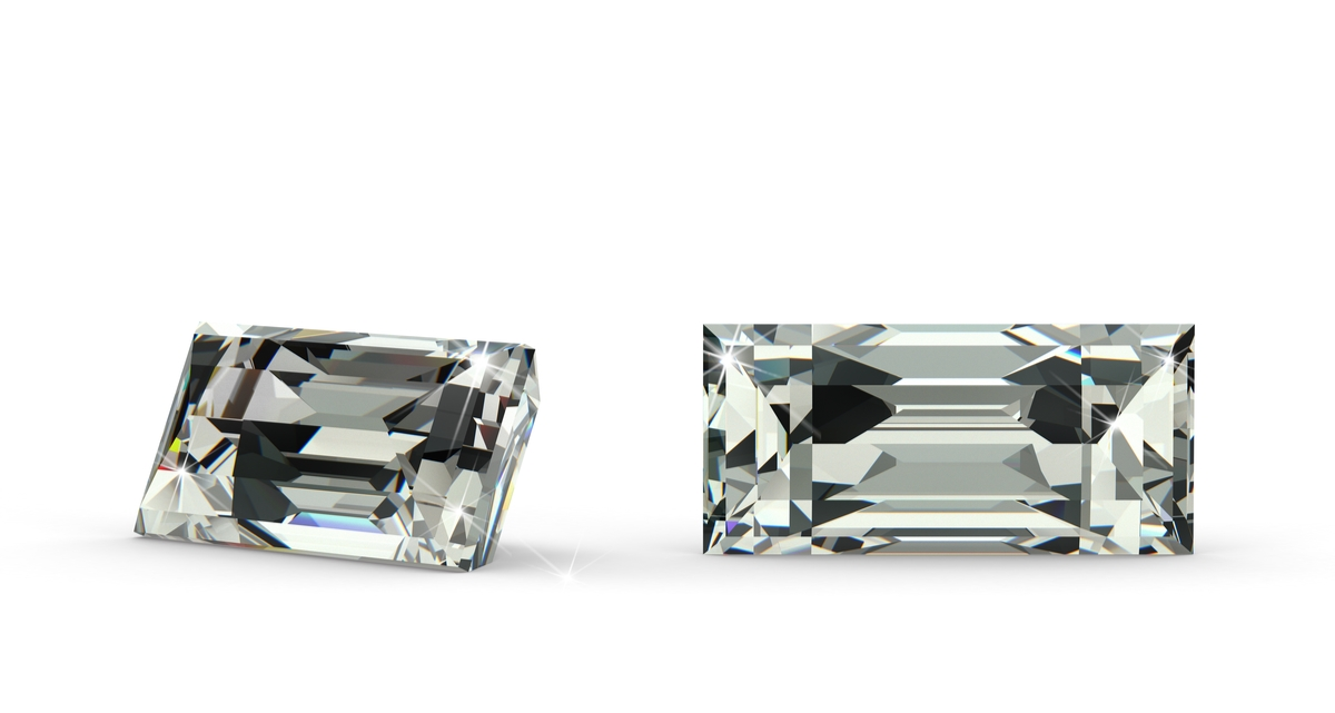 バゲットカット ダイヤモンド