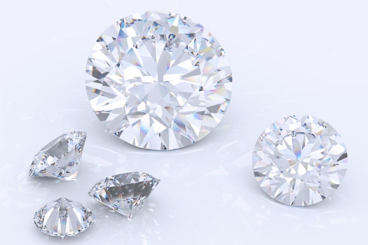 ラウンドブリリアントカット ダイヤモンド