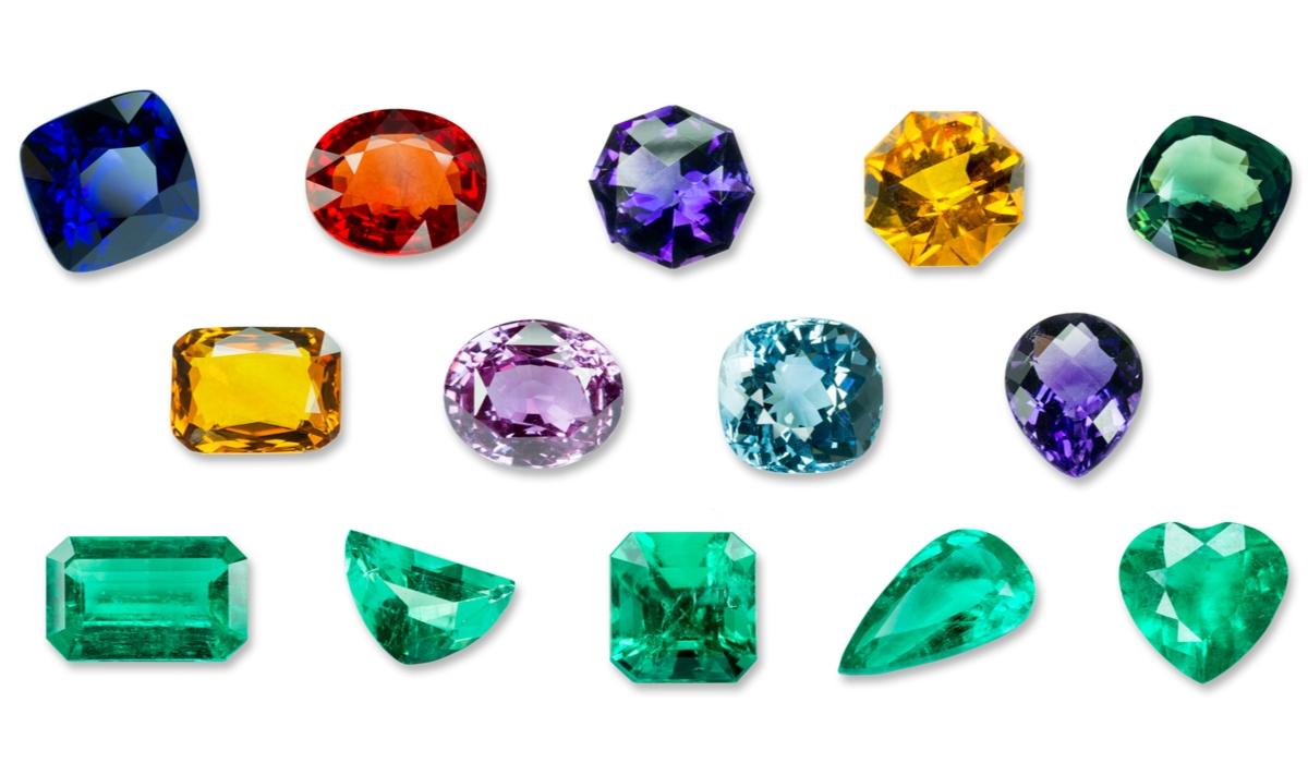 宝石 カット