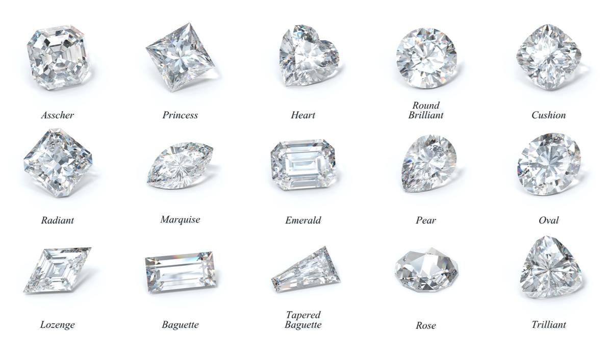 ダイヤモンド カット 一覧
