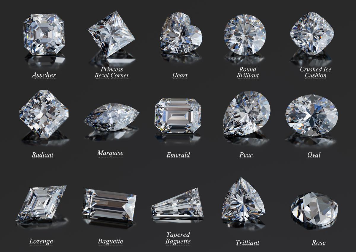 ダイヤモンド カット一覧