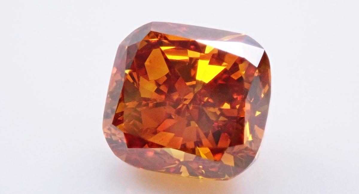 オレンジダイヤモンド ルース