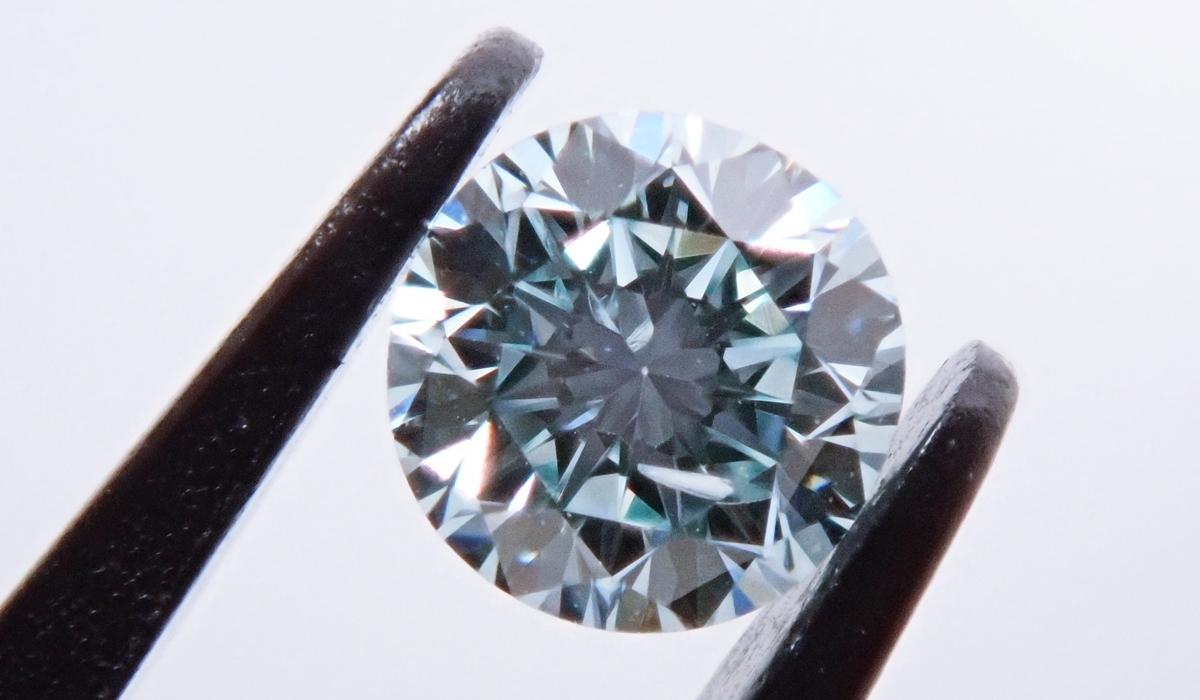 アイスブルーダイヤモンド ルース