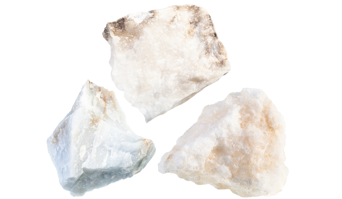 アンハイドライト 原石