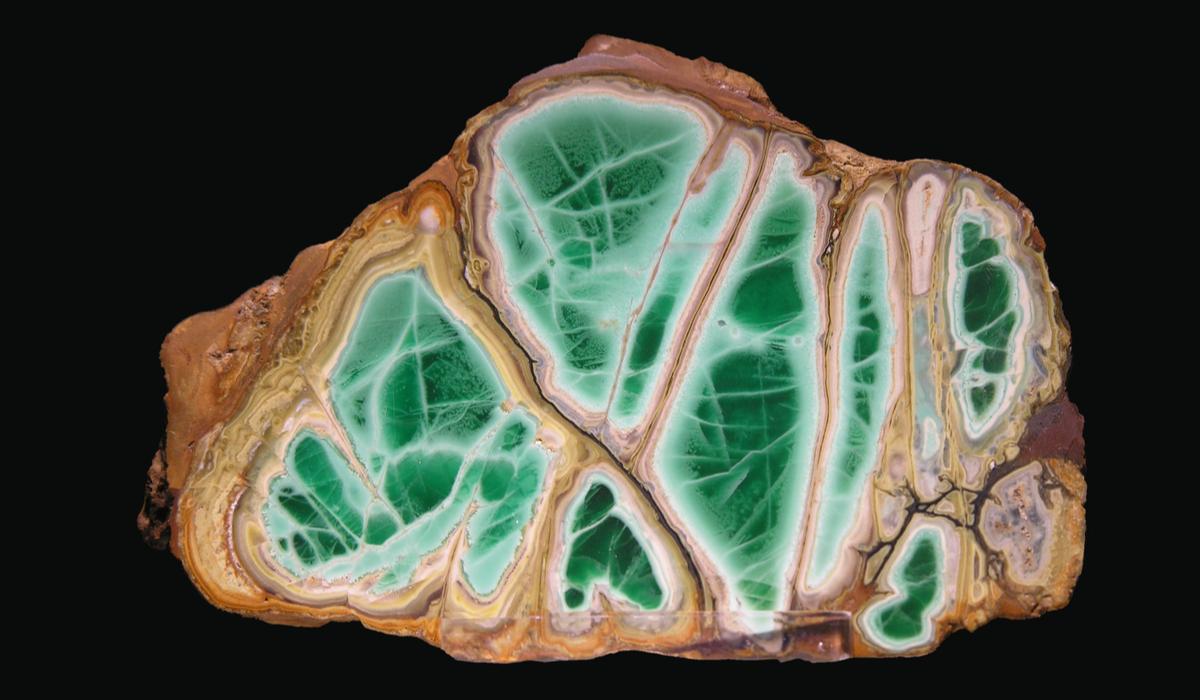 バリサイト 原石