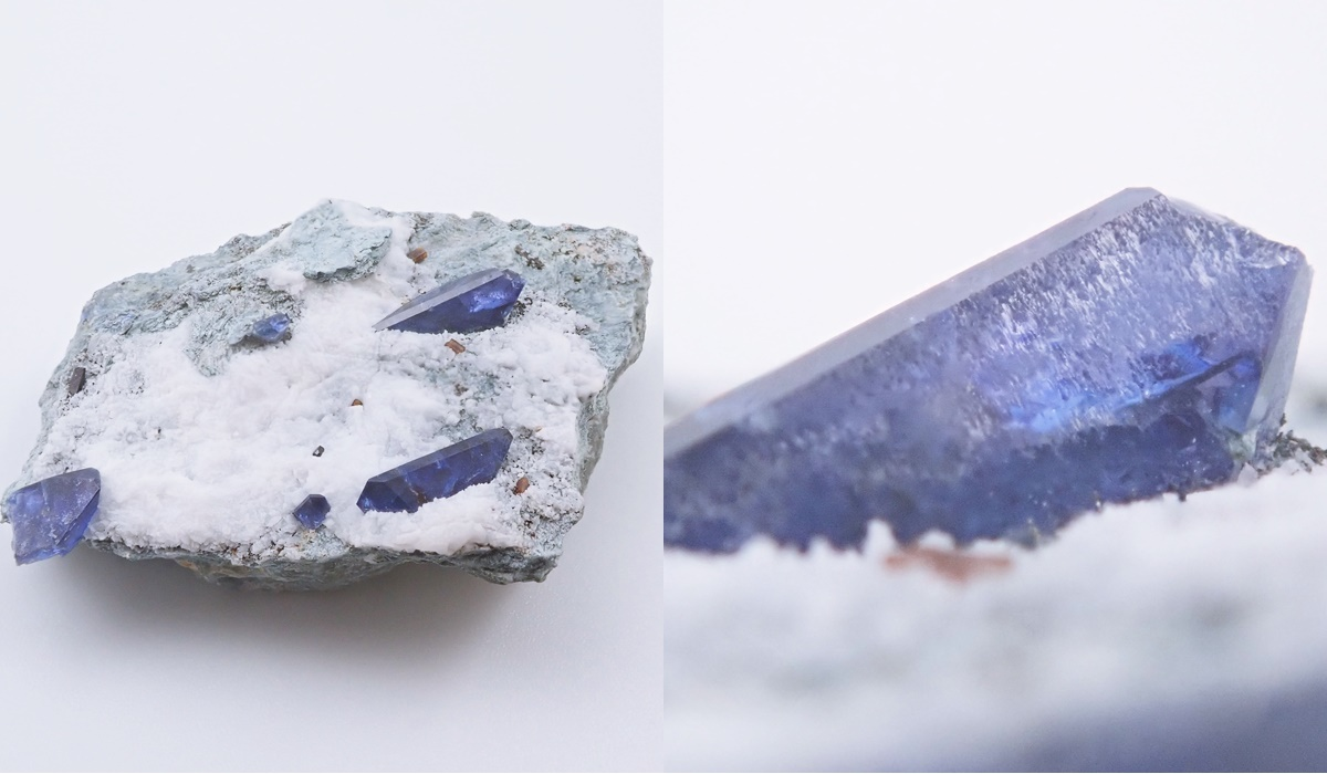 ベニトアイト 原石