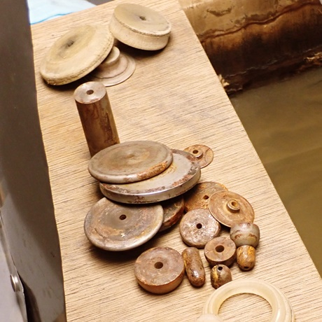 宝石彫刻用コマ
