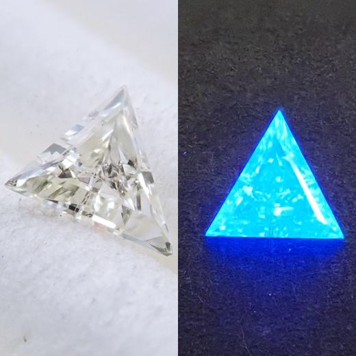 ダイヤモンド 蛍光 ルース