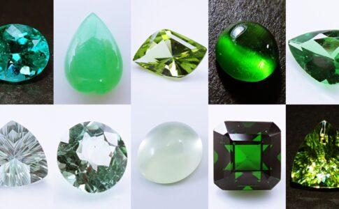 グリーン 宝石
