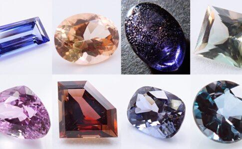 多色性の強い宝石たち