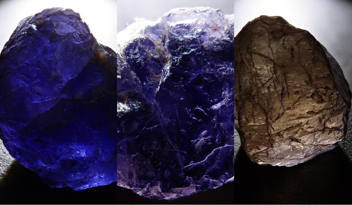 アイオライト 原石2