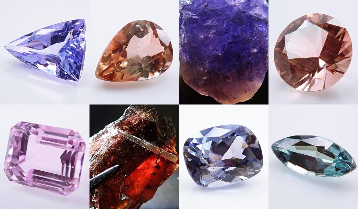 多色性が強い宝石