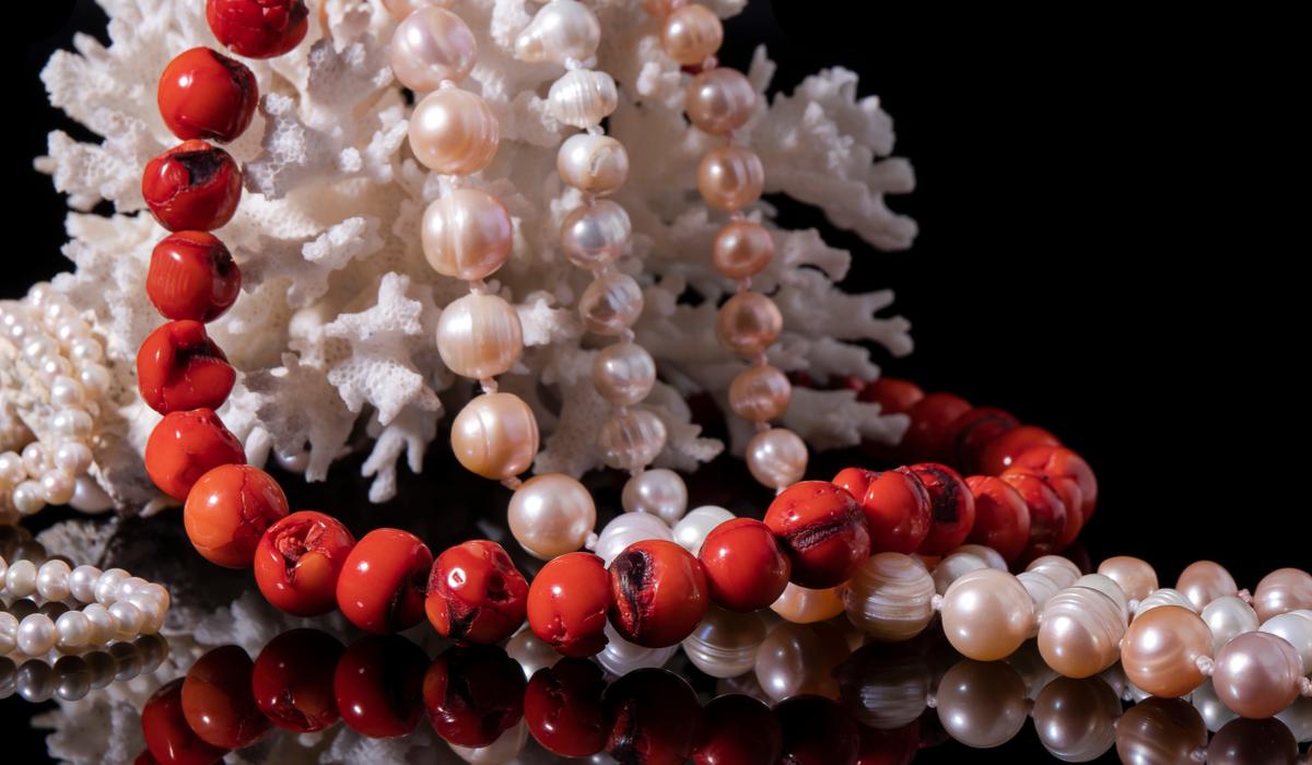 真珠 パール 珊瑚 コーラル