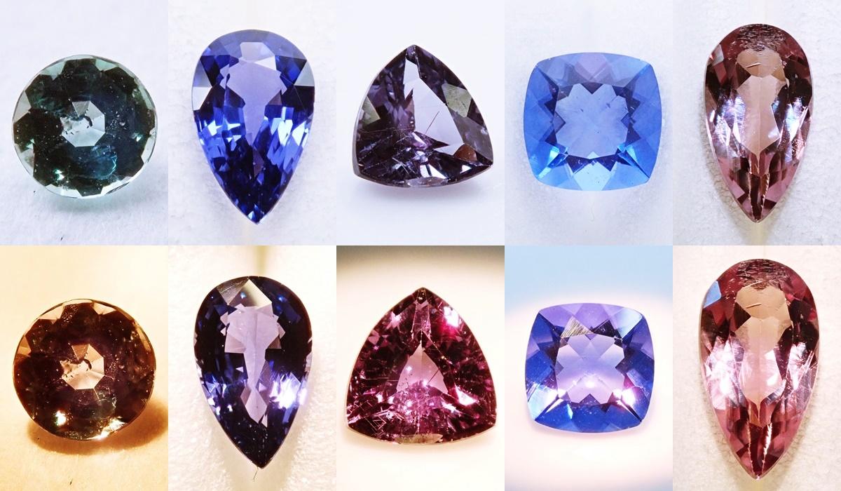 カラーチェンジする宝石2